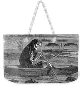 Pollution Thames River Weekender Tote Bag