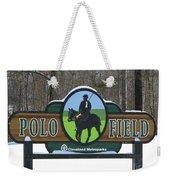 Polo Field Weekender Tote Bag