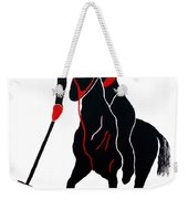 Polo Player Weekender Tote Bag