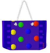 Polychrome Blue Weekender Tote Bag