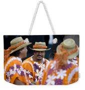Polynesian Musicians Weekender Tote Bag