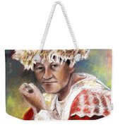 Polynesian Woman Weekender Tote Bag