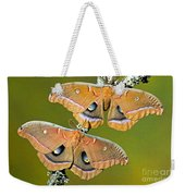 Polyphemus Moths Weekender Tote Bag