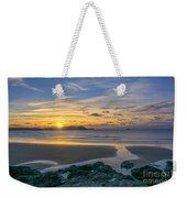 Polzeath Sunset 3 Weekender Tote Bag