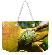 Pomegranate Bug Jewel Case Weekender Tote Bag