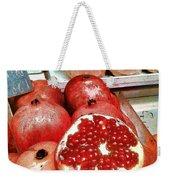 Pomegranates In Open Market Weekender Tote Bag