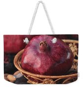 Pomegranates And Almonds Weekender Tote Bag