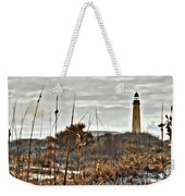 Ponce Inlet Lighthouse From The Dunes Weekender Tote Bag