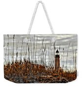Ponce Inlet Lighthouse In Sea Grass Weekender Tote Bag