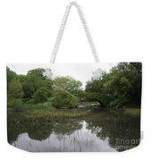 Pond And Bridge Weekender Tote Bag
