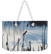 Pond At Twilight Weekender Tote Bag