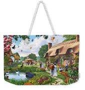 Pond Cottage Weekender Tote Bag