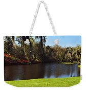 Pond In A Garden, Middleton Place Weekender Tote Bag