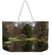 Pond In The Park Weekender Tote Bag