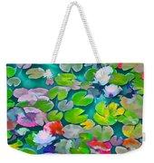 Pond Lily 5 Weekender Tote Bag