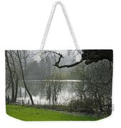 Pond Near Home Farm - Ilam Weekender Tote Bag