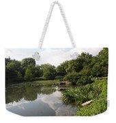 Pond Reflection - Central Park Weekender Tote Bag