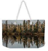 Pond Reflections Weekender Tote Bag by Paul Freidlund