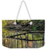 Pond Reflects Weekender Tote Bag