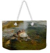 Pond Song Weekender Tote Bag