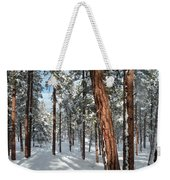 Ponderosa Winter Weekender Tote Bag