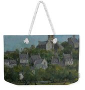 Pont Croix, Brittany, 2007 Oil On Canvas Weekender Tote Bag