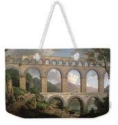 Pont Du Gard, Nimes Weekender Tote Bag