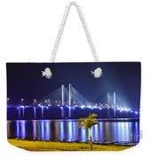 Ponte Estaiada De Aracaju - Construtor Joao Alves Weekender Tote Bag