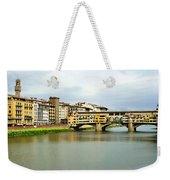 Ponte Vecchio 1 Weekender Tote Bag