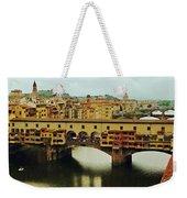 Ponte Vecchio 2 Weekender Tote Bag by Ellen Henneke