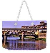 Ponte Vecchio Bridge - Florence Weekender Tote Bag