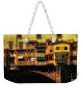 Ponte Vecchio Firenze Weekender Tote Bag