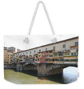 Ponte Vecchio - Florence Weekender Tote Bag