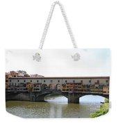 Ponte Vecchio I Weekender Tote Bag