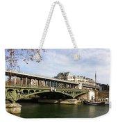 ponte verde a Parigi Weekender Tote Bag