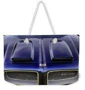Pontiac Hood Weekender Tote Bag