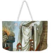 Pontifex Maximus, Illustration Weekender Tote Bag