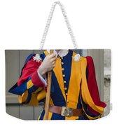 Pontifical Swiss Guard Weekender Tote Bag