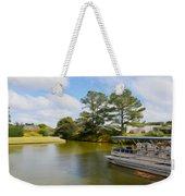 Pontoon Boat Ride On The Lake Weekender Tote Bag