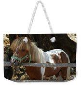 Pony Horse Weekender Tote Bag