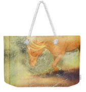 Pony In The Grasses Weekender Tote Bag