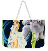 Poodle Art - The Seven Year Itch Movie Poster Weekender Tote Bag