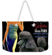Poodle Standard Art - Gilda Movie Poster Weekender Tote Bag