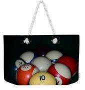 Pool Balls Weekender Tote Bag