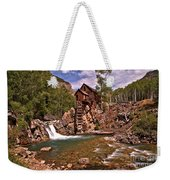 Pool Below The Mill Weekender Tote Bag