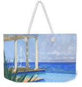 Pool Cabana Morning Weekender Tote Bag