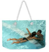Pool Couple 9717b Weekender Tote Bag