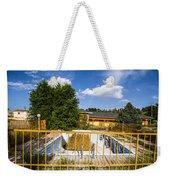Pool Garden Weekender Tote Bag