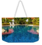 Pool Time Weekender Tote Bag