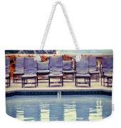 Pool With Views Of The Ocean Weekender Tote Bag
